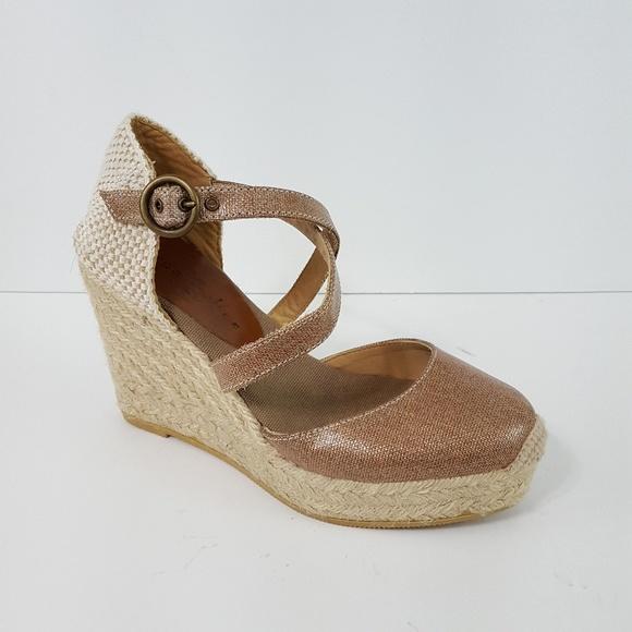 56aedcbd664 {Bettye Muller} Katy Bis Espadrille Wedge Sandals